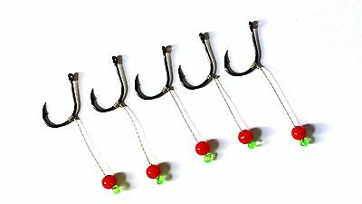Tackle Carp Fishing Hooks Rigs Hair Ready Tied for Bread Corn Bait Fish