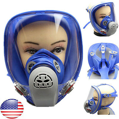 For 3M 6800 Silicone Gas Mask Full Face Facepiece Respirator Painting Spraying U