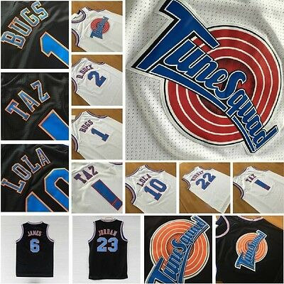 Tune Squad Space Jam T-Shirt Jersey Basketball New Jersey LOONEY TUNES Cartoon