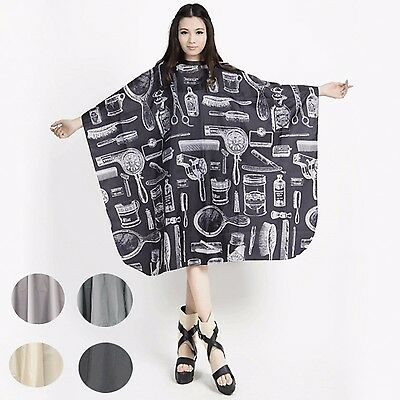 ISHPNIH - Pro Salon Barber Gown Cape Hairdressing Hair Cutting Cloth Fashion