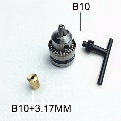 Mini Electric Drill Chuck 0.6-6mm With 3.17mm Copper Shaft Mount B10 Inner Hole
