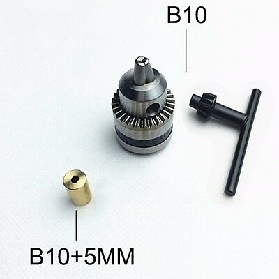 Mini Electric Drill Chuck 0.6-6mm With 5mm Copper Shaft Mount B10 Inner Hole