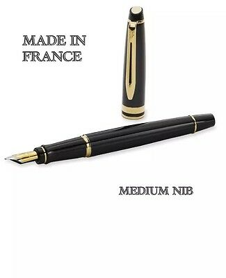 WATERMAN EXPERT ll FOUNTIAN PEN WITH GOLD TRIM