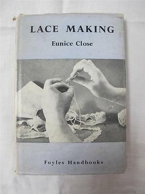 "VINTAGE 1950's ""LACE MAKING"" by EUNICE CLOSE - INSTRUCTION BOOK"