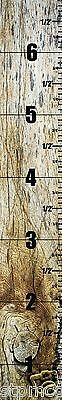 Kids Wall Wooden Look Ruler Growth Chart - Height Children, Boys and Girls  / M1