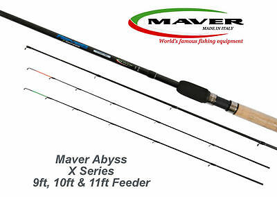 Maver Abyss X Series Feeder Fishing Rod 9ft, 10ft & 11ft Feeder Picker - 2 Piece