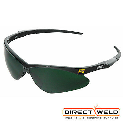 ESAB Warrior Safety Spectacles / Glasses Smoke Lens Shade 5