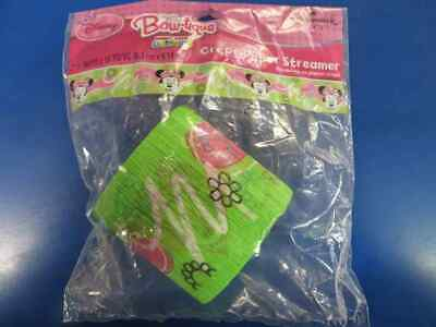 RARE Minnie Mouse Bow Tique Disney Birthday Party Decoration Crepe Streamer