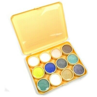 Enamel powders set of 12 transparent starter set kit enamelling enamels - TE02