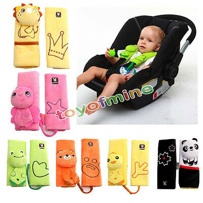 Baby Pushchair Car Seat Protection Belt Cover Pad Cushion Shoulder Holder New