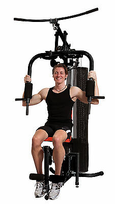 Christopeit Krafttraining Home Fitness Station SP 10 mit Gewichten 45kg