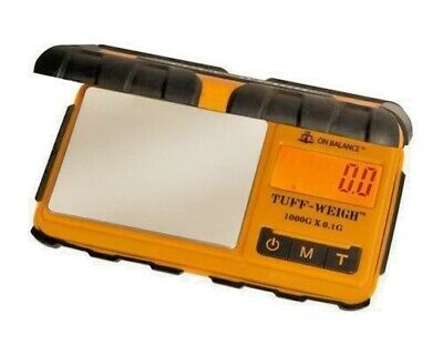 Tuff Weigh Tuff-1000 Digital Scales Rugged Rubber 1Kg X 0.1G Table Top Scale
