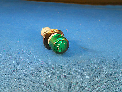 130Sgp Korry Green Light Ind. Dimming Device/press To Test New Old Stock