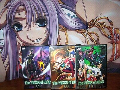 The Wings of Rean Vol 1,2,3 - Complete Collection Anime DVD - BRAND NEW