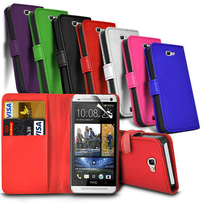 Sony Experia Phone Leather Wallet Book Style Case Cover with Card Slots