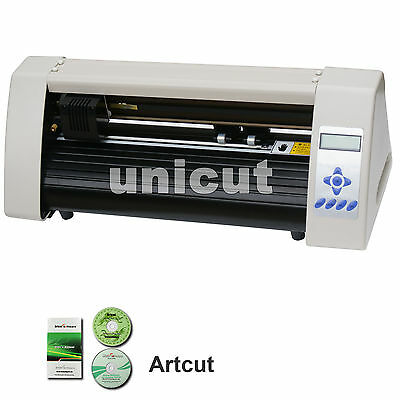 New 20'' Desktop Cutting Plotter Best Value Vinyl Cutter For Sticker *Artcut
