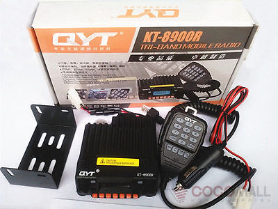 KT-8900R Mobile Radio Double Transceiver For Car VHF/UHF 136-174/400-480MHz