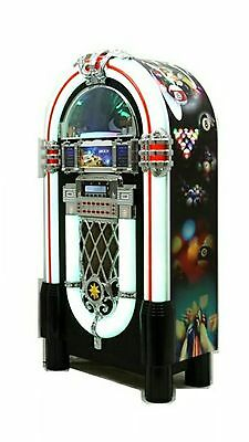 BRAND NEW JUKE BOX. Pool theme. Perfect for man cave, pool room, bar.