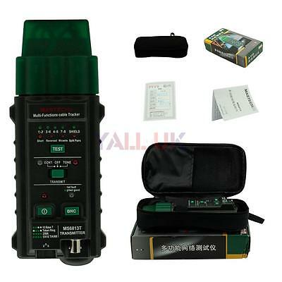 MASTECH MS6813 Network Cable Telephone Line Wire Tester Detector Finder Tracker