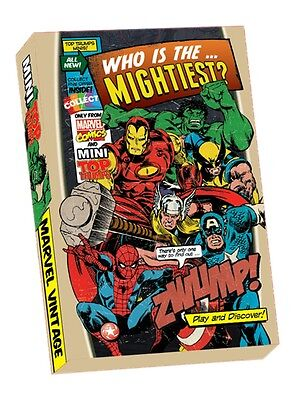 Mini Top Trumps - Marvel Comic Heroes