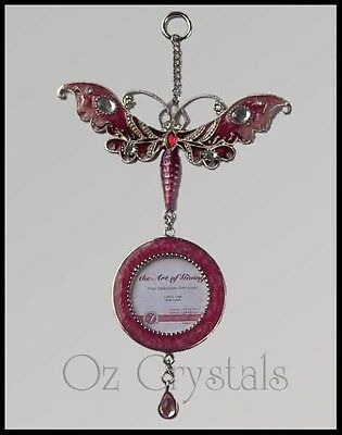 Hanging Dragonfly Ornament Earring Display, Photo Frame