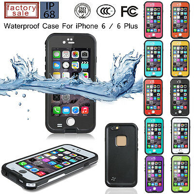 iPHONE 6 6s HEAVY DUTY WATERPROOF COVER HIGH QUALITY HIGH QUALITY BUILDERS CASE