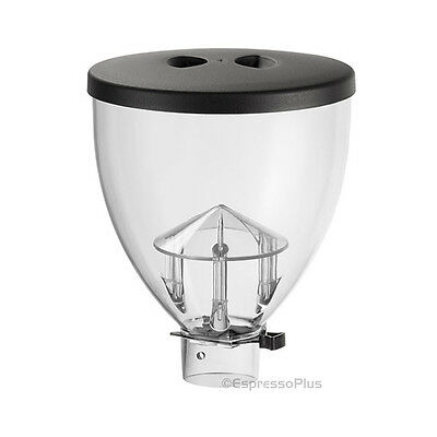 Mazzer Mini Standard Size Replacement Hopper with Lid & Sliding Gate - OEM