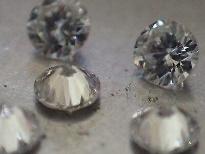 5 diamants - 2.40mm - VVS/E - SUPERBES !!!
