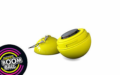 Mighty Boom Ball - VIBRATION SPEAKER - Yellow