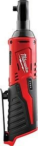 "Milwaukee M12 1/4"" dr Cordless Ratchet, 30 ft-lbs, Bare Tool #2456-20"