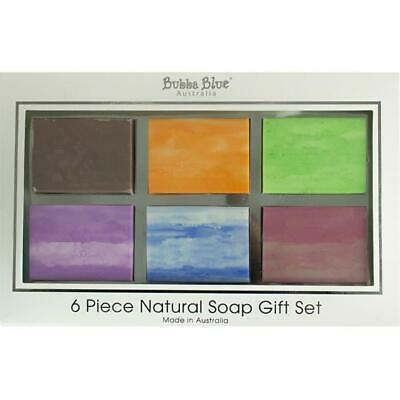 Bubba Blue ORGANIC & NATURAL 6 Piece Goats Soap Gift Set