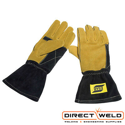 ESAB Heavy Duty Curved Mig Welding Gloves - Size 9/L & 10/XL