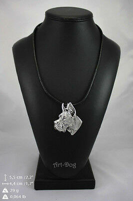 Great Dane cropped , Dog Necklace, Pendant, High Quality, Exceptional Gift
