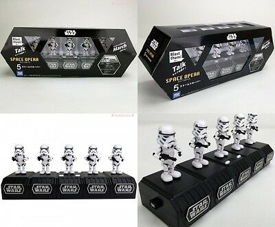 New Takara Tomy A.R.T.S Star Wars Space Opera 5 Stormtroopers From Japan