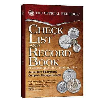 COIN CHECK LIST & RECORD BOOK - U.S. & Canadian Coins