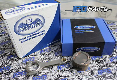 1 piece Used 02-06 Acura RSX Type S K20A2 Piston With Rod Standard size A Bore