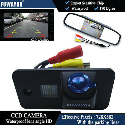 4.3'' Monitor CCD Reverse Camera for AUDI A3 S3 A4 S4 A6 S6 A8 S8 RS6 Q7