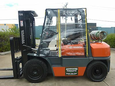 Universal Big Size Standard Clear Vinyl Heavy Duty Forklift Cab Enclosure Cover
