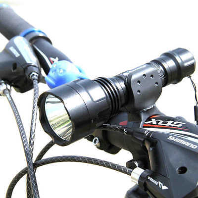 Bicycle Light 2000 Lumens LED lights Front Torch Waterproof lamp Torch Holder X1