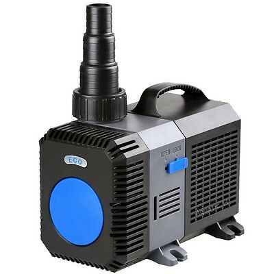4200 GPH Submersible Inline Pond Pump Fountain Waterfall Koi Filter