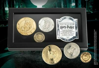 Harry Potter : GRINGOTTS BANK COINS from The Noble Collection NOB7234