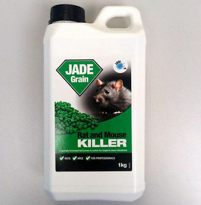 Jade Grain Lodi Rat And Mouse Poison. Strong, Rapid Rodent Control