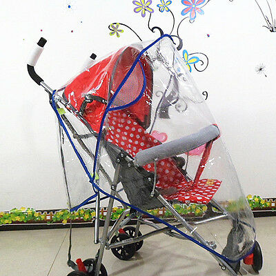 Waterproof Baby Pushchair Pram Rain Cover Stroller Mosquito Insect Wind Shield