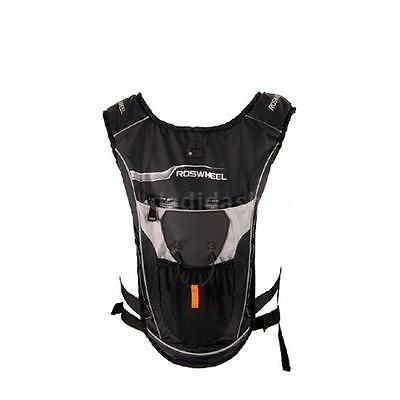 Cycling Bicycle MTB Bike Hiking 5L Backpack + 2L Water Bag Hydration Bladder
