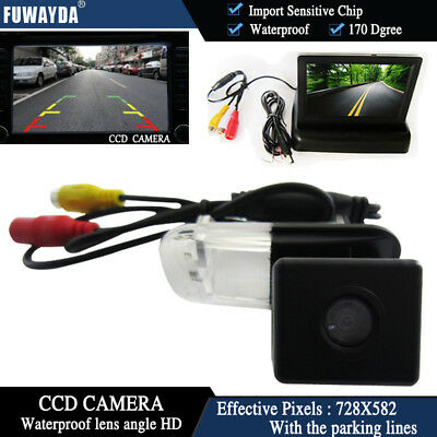 4.3'' Foldable  CCD Monitor Reverse Camera for Mercedes-Benz B200 A-class W169