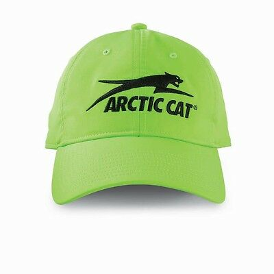 Arctic Cat Men's Aircat Hi-Vis Performance Hat / Cap - Lime / Black 5268-357