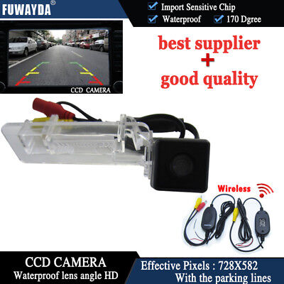Wireless CCD Rear View Parking Reverse Back up  Camera for Benz SMART R300 R350