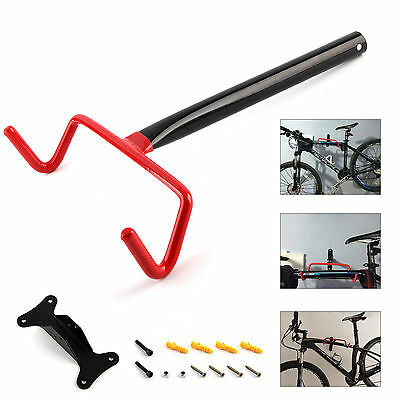Garage Wall Mounted Bike Bicycle Cycle Storage Rack Hook Holder & Screws UK