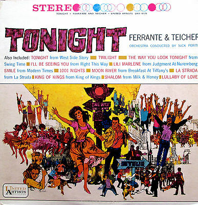 Tonight Ferrante & Teicher UAS 6171 Stereo EXCELLENT