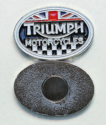 Triumph Motorcycles Oval Magnet (Pw 207)